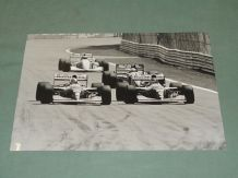 "WILLIAMS FW15s Hill & Coulthard, Canada 94. Original 8.5x6.5"" Press Office photo"
